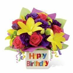 Happy Birthday Flower Bouquet