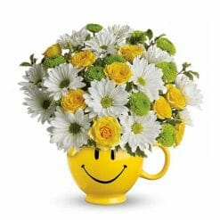 Get Well Flowers - Smile Bouqet